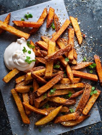oregano fries