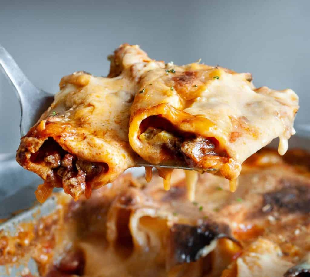 cheesy vegan cannelloni