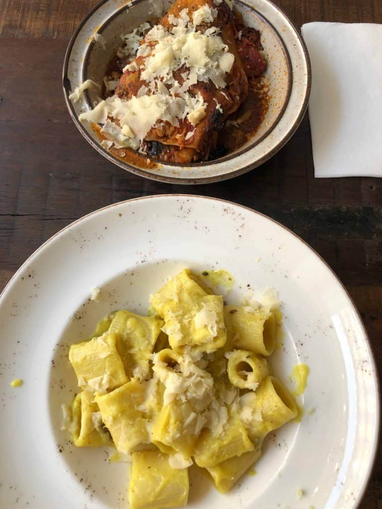 vegan pasta at madenitaly
