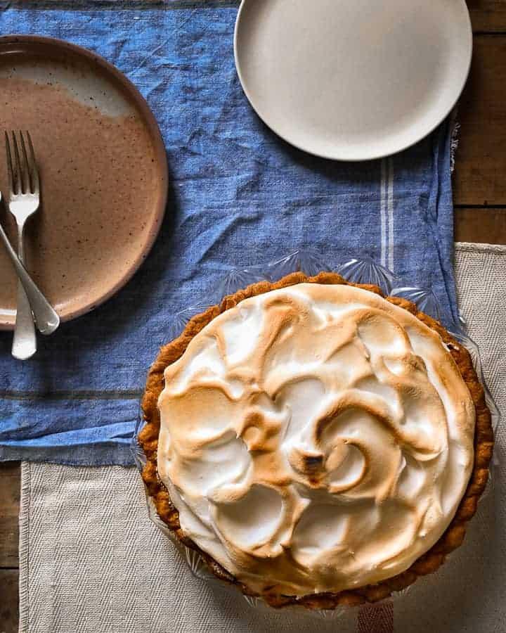 full lemon meringue pie