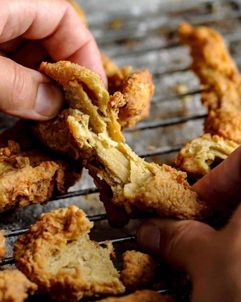 vegan southern style fried chicken