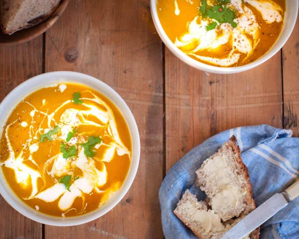 vegan sweet potato soup