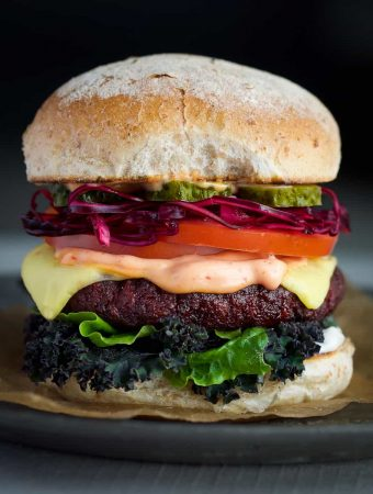 classic vegan burgers by school night vegan