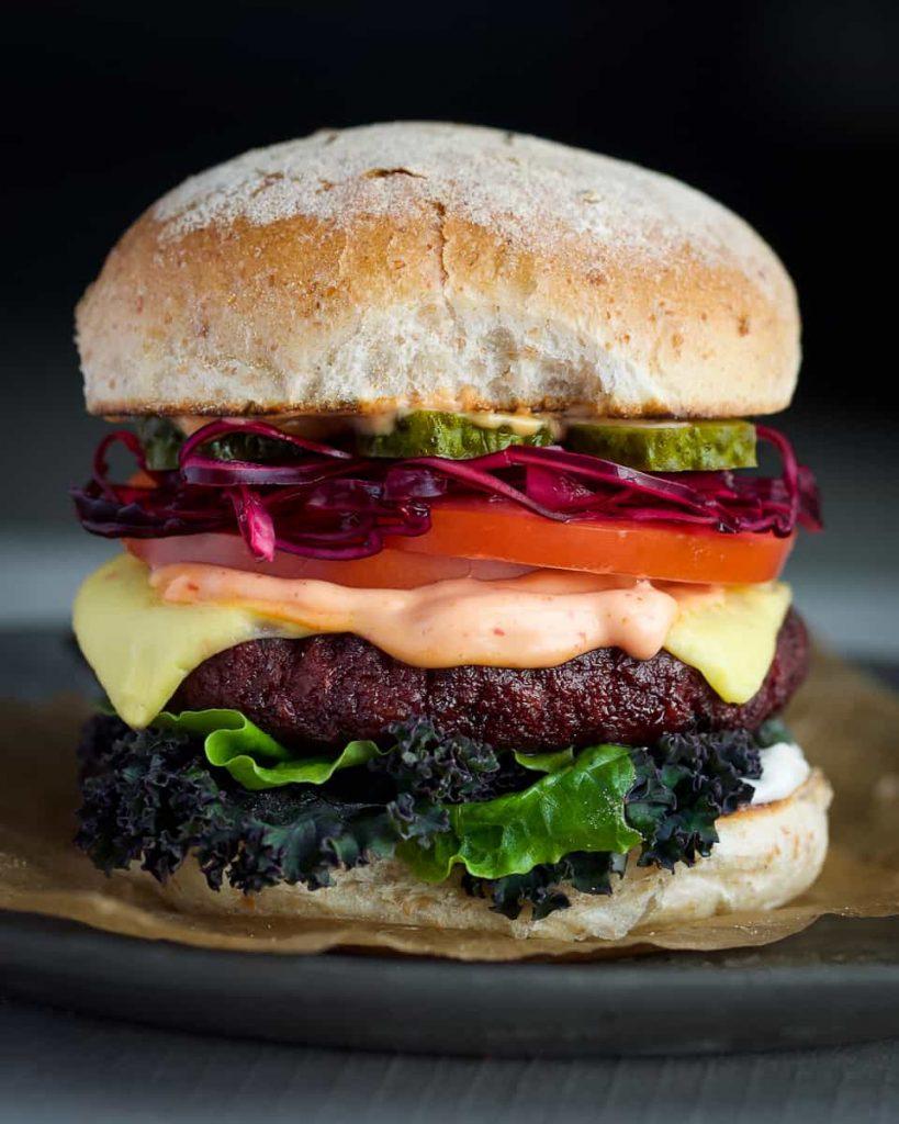 classic vegan burgers by school night vegan