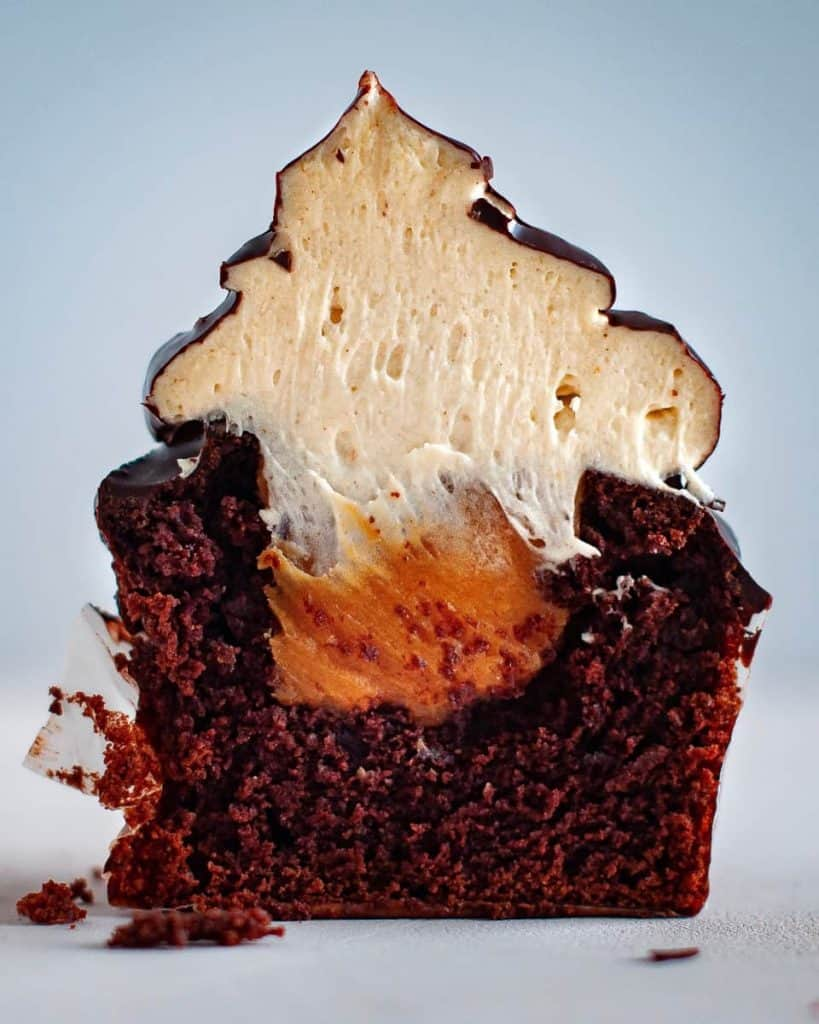 delicious cake cross-section