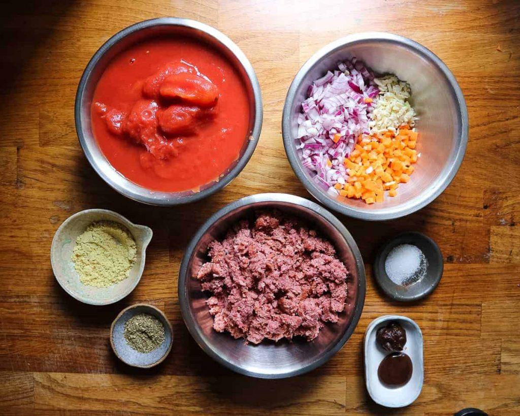 essential school night vegan ingredients