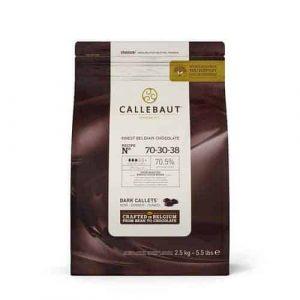 Callebaut 70% dark chocolate chips