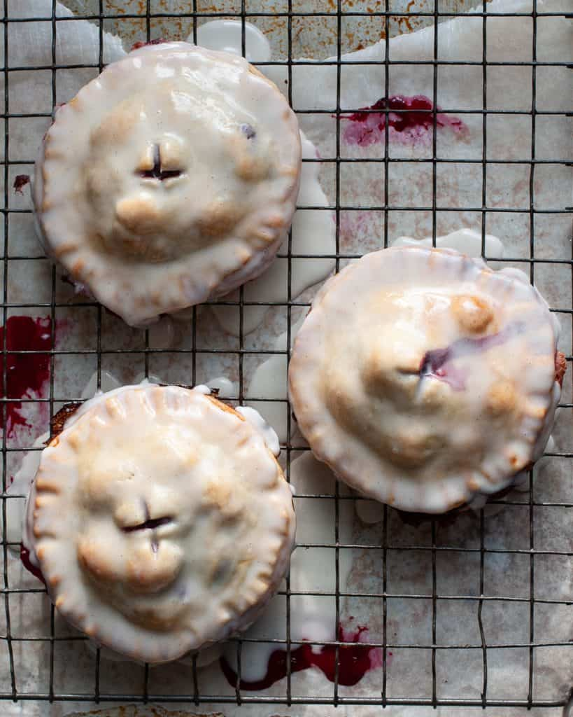 blackberry hand pies vegan