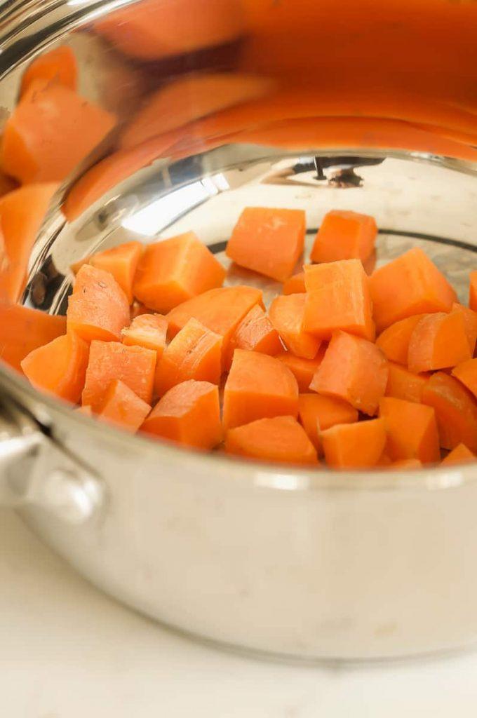 school night vegan carrots