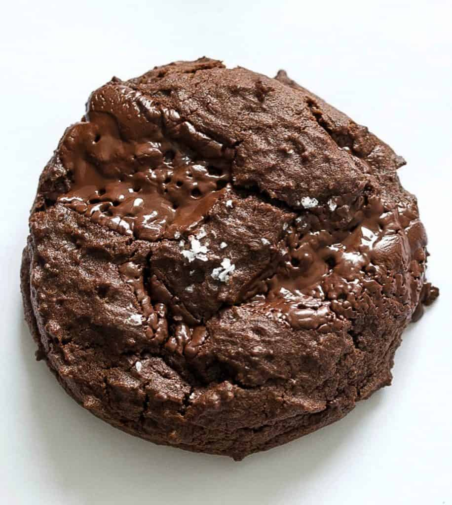 vegan double chocolate cookie