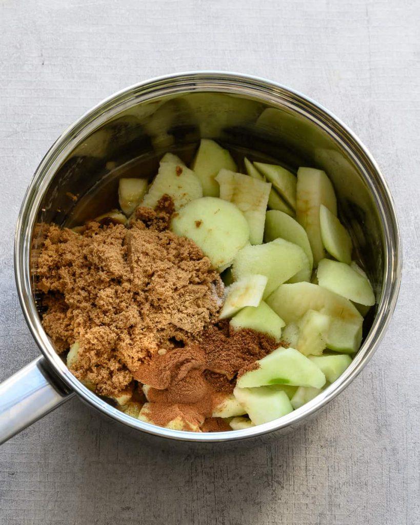 vegan apple butter ingredients