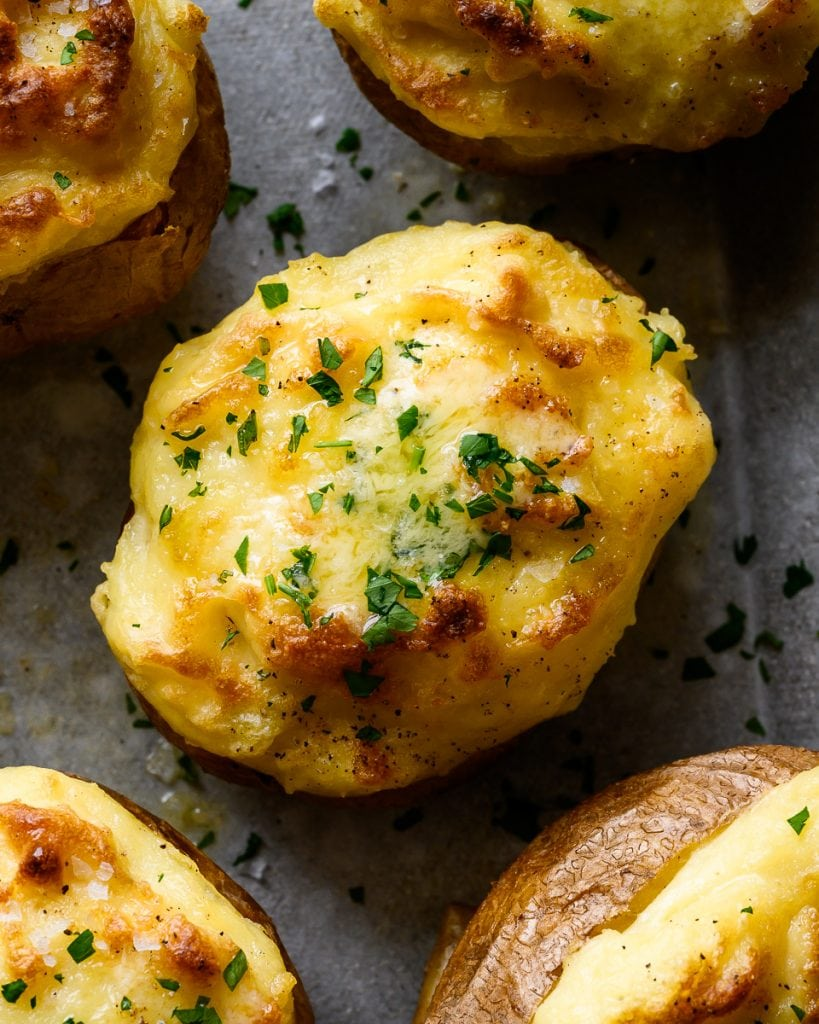 vegan twice baked potatoes
