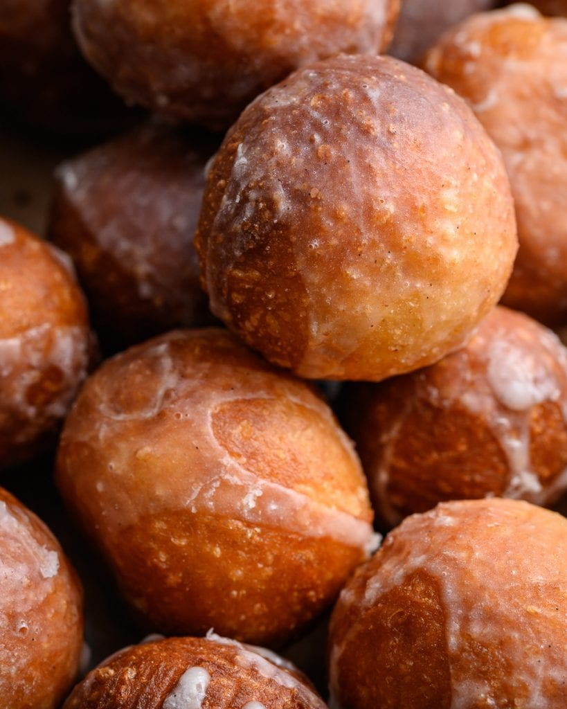 vegan vanilla donut holes