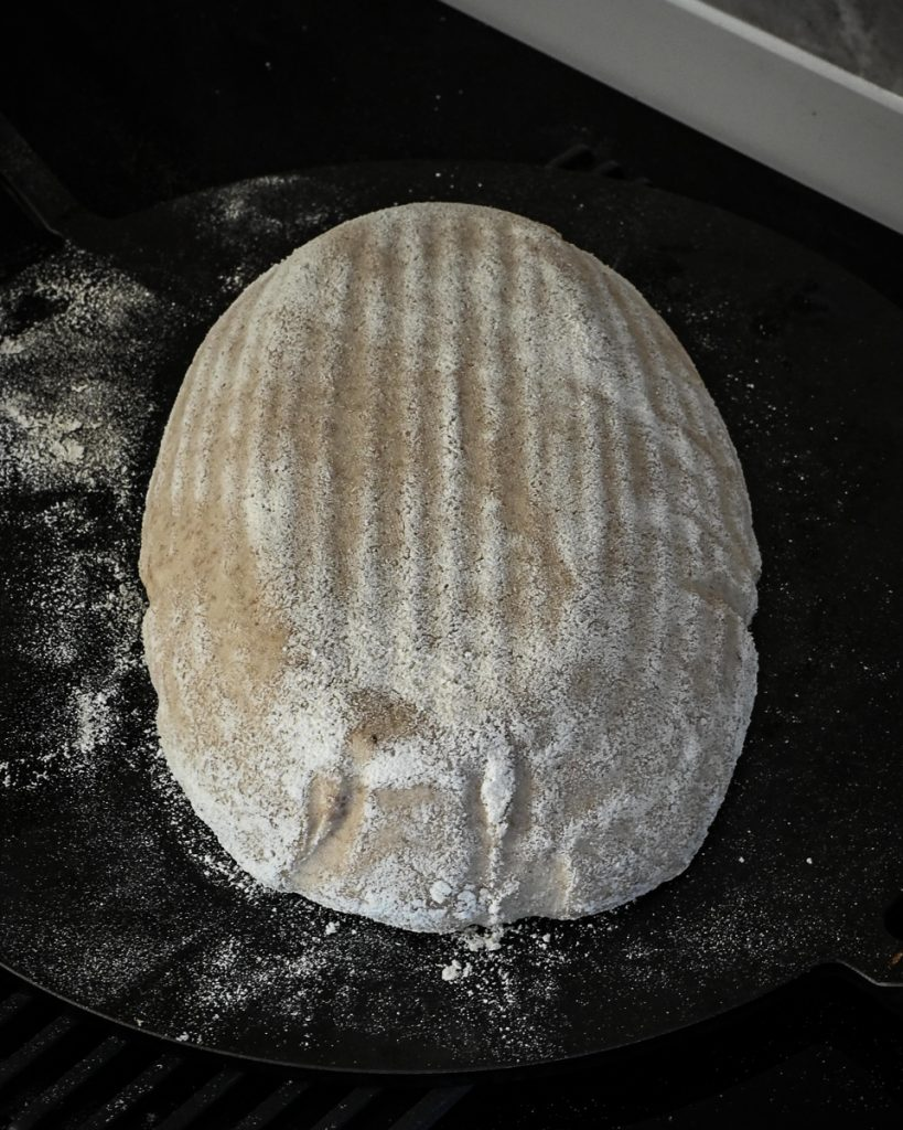 turned out dough