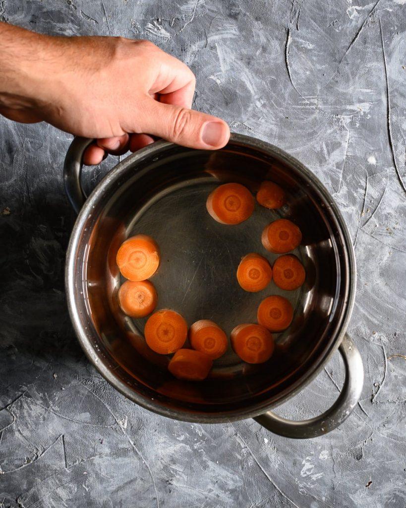 boiling carrot