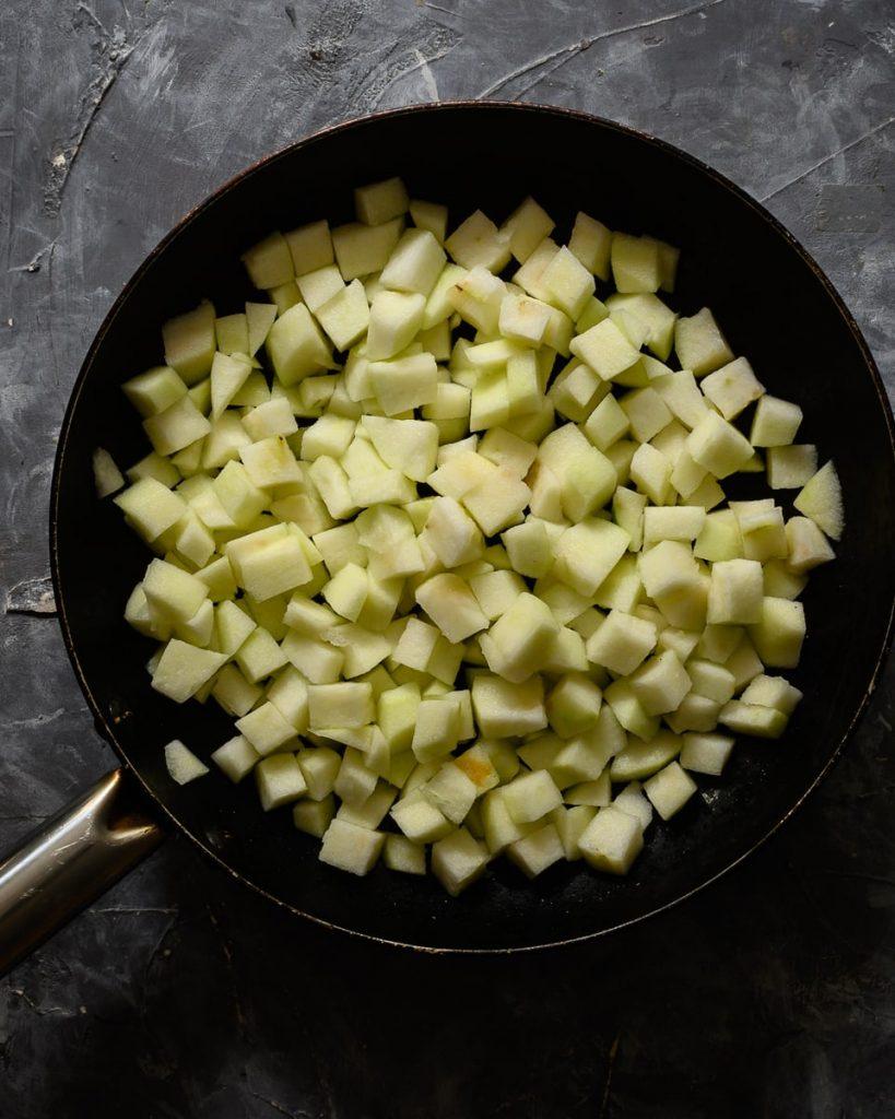 sautee apples