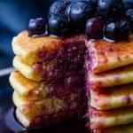 vegan cornmeal buttermilk pancakes
