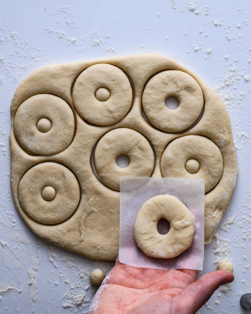 vegan donuts proofing