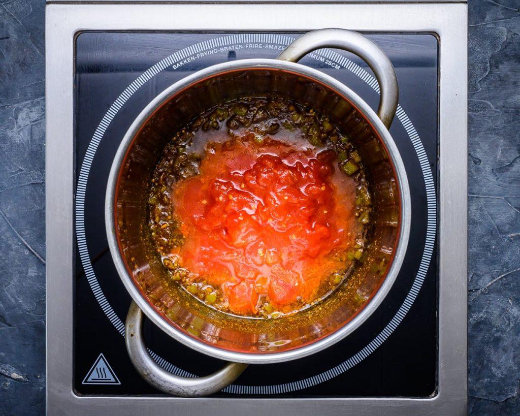 before simmering