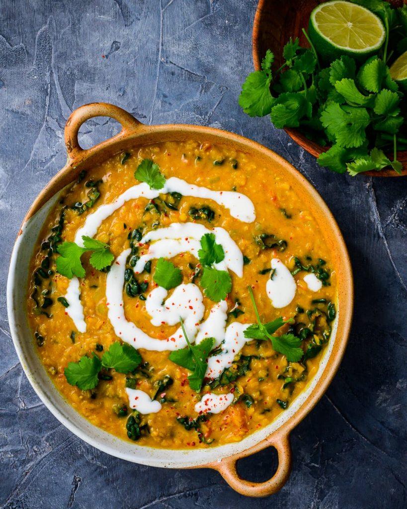 one pot red lentil dal