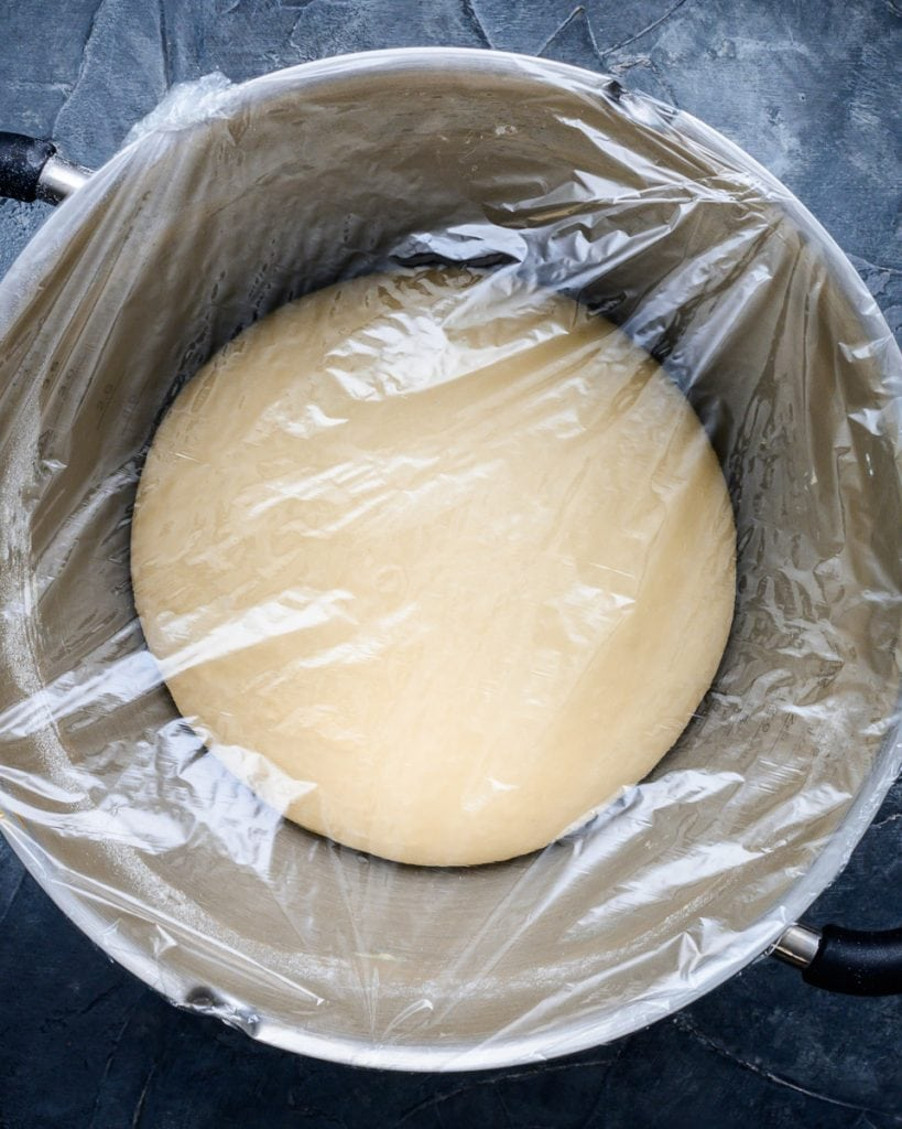 vegan cheesy beer rolls dough