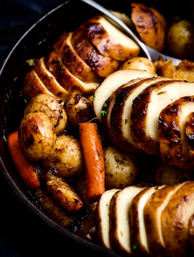 vegan christmas roast chicken