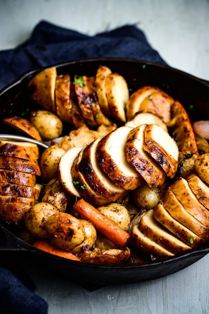 vegan christmas roast chicken