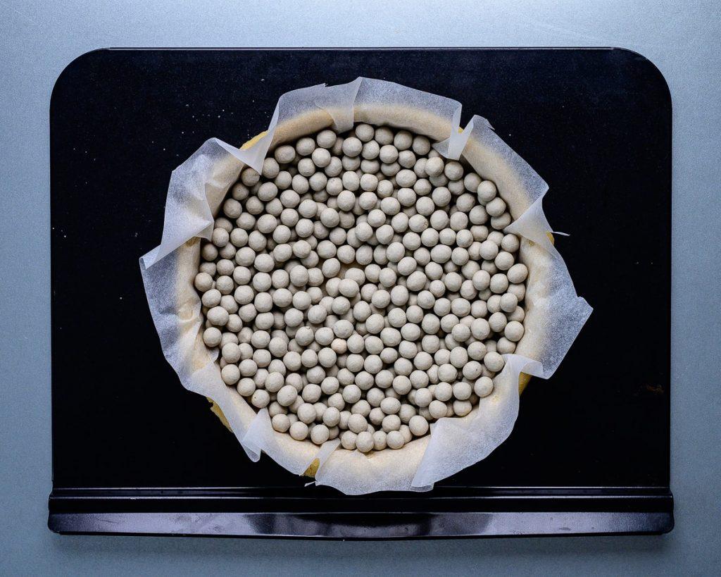 vegan pastry case