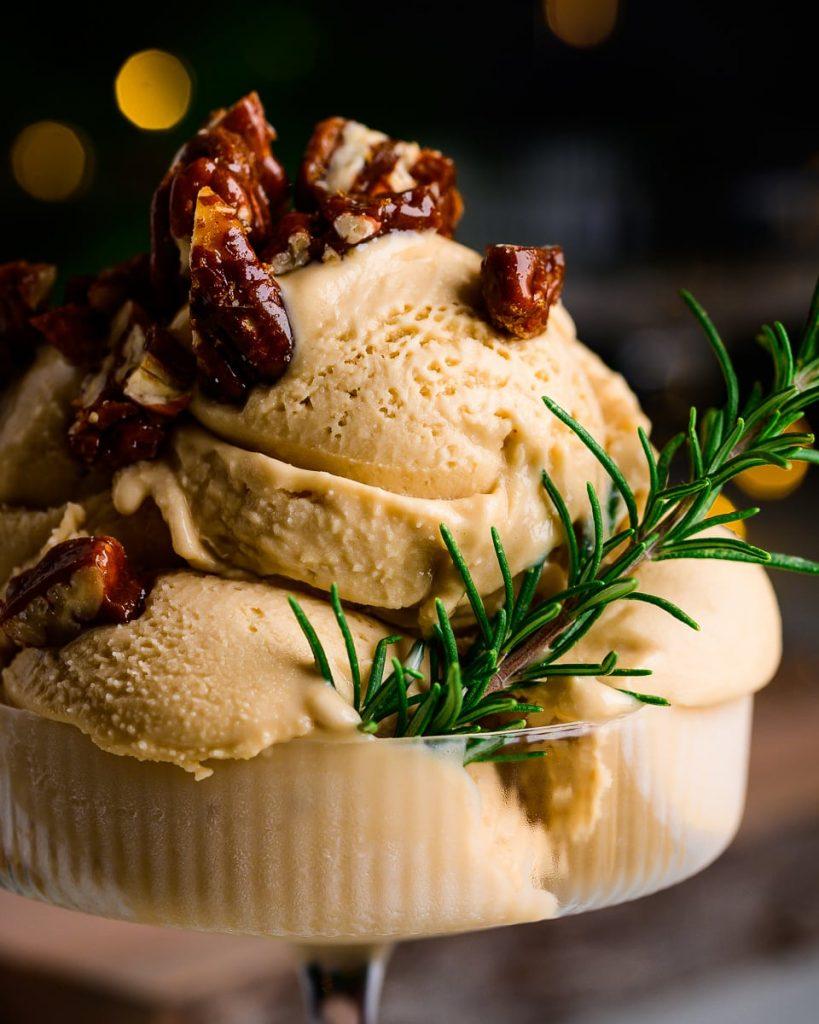 vegan rosemary gelato