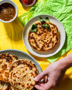 vegan scallion pancakes