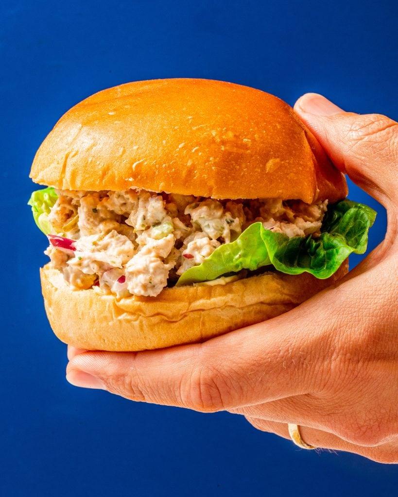 the best vegan tuna salad sandwich