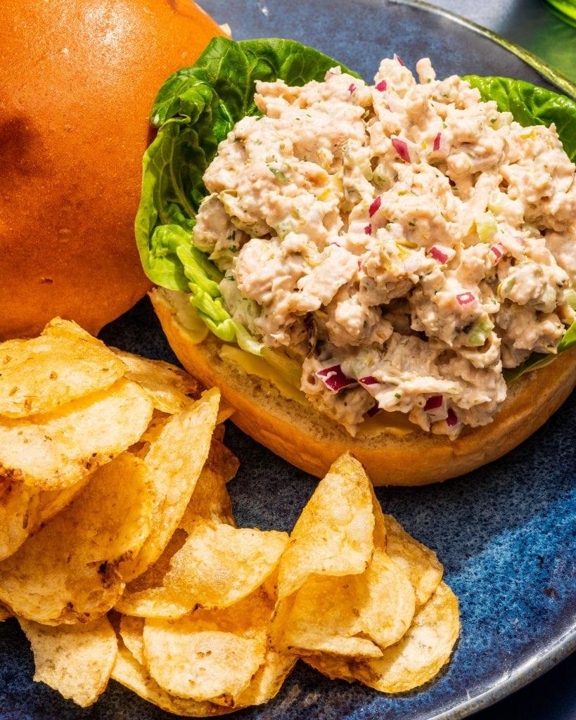 the best vegan tuna salad